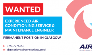 Experienced Air Conditioning Service & Maintenance Engineer - Glasgow